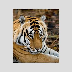 Royal bengal tiger Throw Blanket