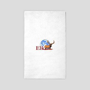 Elkaholic Bull Moon Area Rug