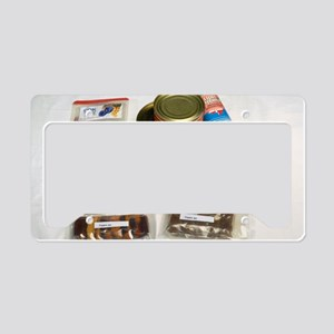 Russian space food License Plate Holder