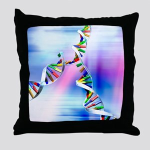 DNA replication Throw Pillow