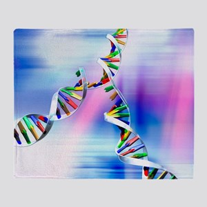 DNA replication Throw Blanket