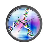 Dna molecular Wall Clocks