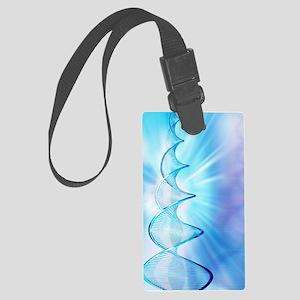 DNA molecule Large Luggage Tag