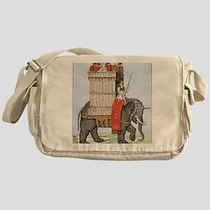 Roman elephant of war Messenger Bag