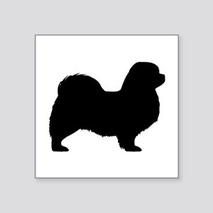 "Tibetan Spaniel Square Sticker 3"" x 3"""