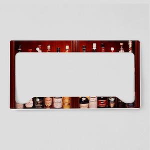Drinks cabinet License Plate Holder
