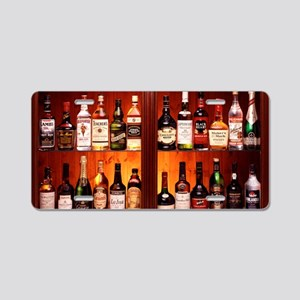 Drinks cabinet Aluminum License Plate
