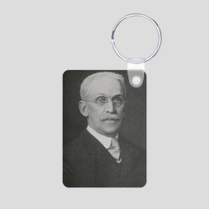 Edward S. Dana, US mineral Aluminum Photo Keychain