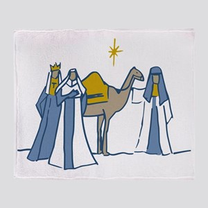 Three Kings Throw Blanket