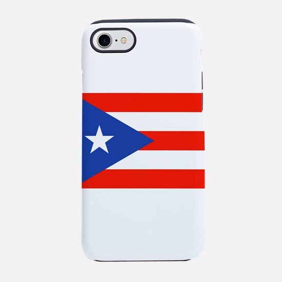 Puerto Rican Boricua Flag Band iPhone 7 Tough Case