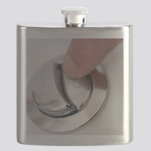 Dual flush button Flask