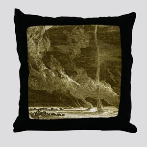 Sand whirlwind Throw Pillow