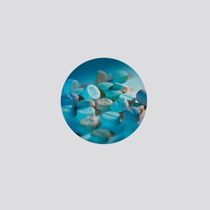 Ecstasy pills Mini Button