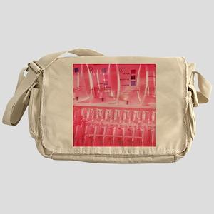 Drug testing kits Messenger Bag