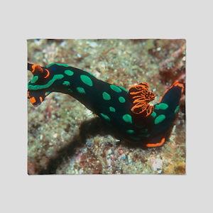 Sea slug Throw Blanket