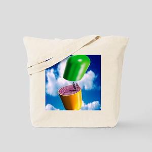 Drugs in sport Tote Bag