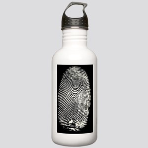 Enlarged fingerprint Stainless Water Bottle 1.0L