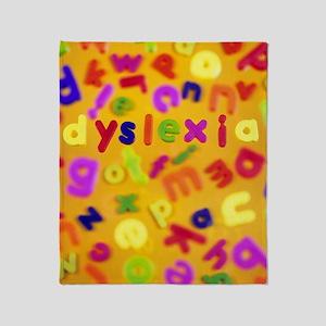 Dyslexia Throw Blanket