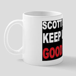 Scott BROWN Good WORKD Mug