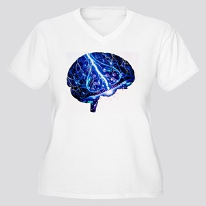 Epilepsy Women's Plus Size V-Neck T-Shirt