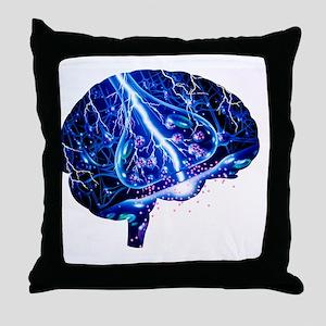 Epilepsy Throw Pillow