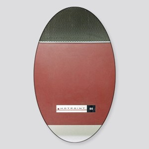 Electric heater Sticker (Oval)