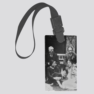 E. Rutherford together with Niel Large Luggage Tag