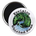 "Envision Whirled Peas 2.25"" Magnet (100 pack)"