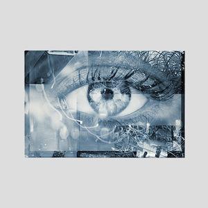 Security surveillance Rectangle Magnet