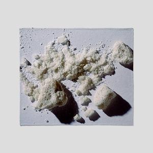 Ecstasy powder Throw Blanket