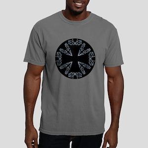 Stylized Iron Cross - Silver T-Shirt