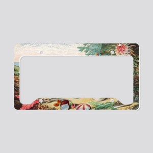 Sea shells License Plate Holder