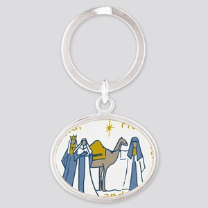 Three Kings Gifts Oval Keychain