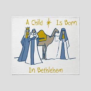 Bethlehem Kings Throw Blanket