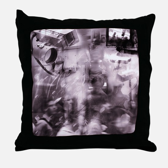 Security surveillance Throw Pillow
