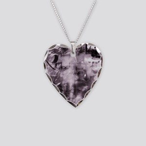 Security surveillance Necklace Heart Charm