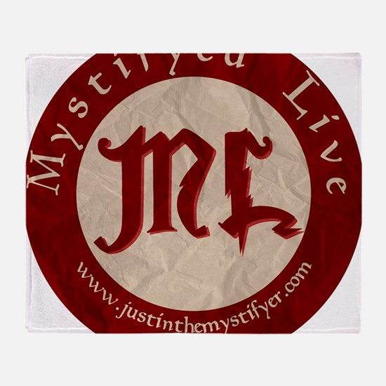 ML Logo1 Throw Blanket