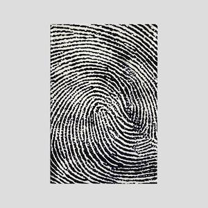 Enlarged fingerprint Rectangle Magnet