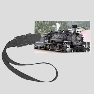 Steam Train: Colorado Large Luggage Tag