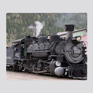 Steam Train: Colorado Throw Blanket