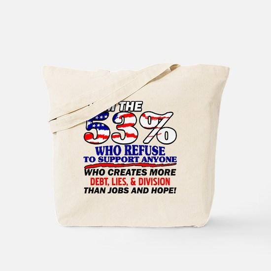 I Am The 53% Tote Bag