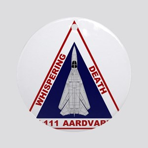 F-111 Aardvark - Whispering Death Round Ornament