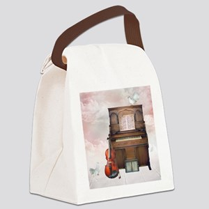 Gate of Heaven 3 Canvas Lunch Bag