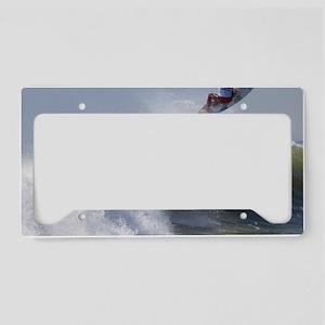 Quicksilver Surfing License Plate Holder