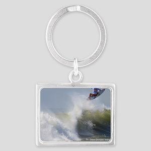 Quicksilver Surfing Landscape Keychain