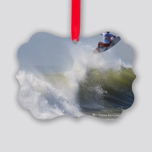 Quicksilver Surfing Picture Ornament