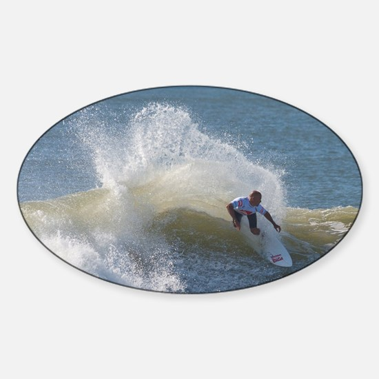 Quicksilver Surfing Sticker (Oval)