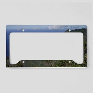 Kalalau Lookout, Kauai Hawaii License Plate Holder