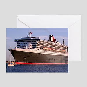 Cruise Ship 2 Greeting Card