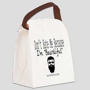 Beardiful Canvas Lunch Bag